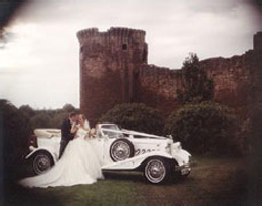 Vintage wedding car hire in Blackburn